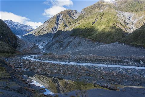Tal des Fox Glacier Neuseeland