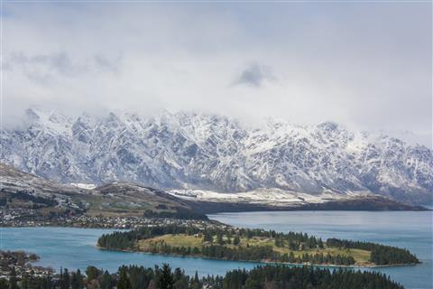 Berge bei Queenstown Neuseeland