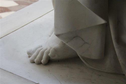 antiker Fuß