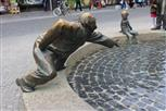 Brunnenfigur in Aachen