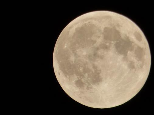 Mond über München August 2015