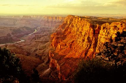 abend am grand canyon