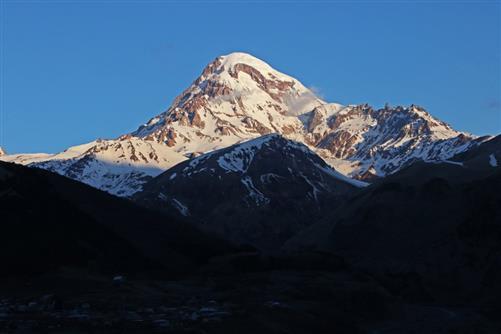 kasbek 5047 m