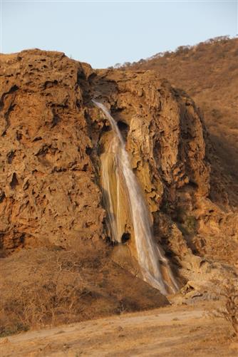 wadi darbat wasserfall
