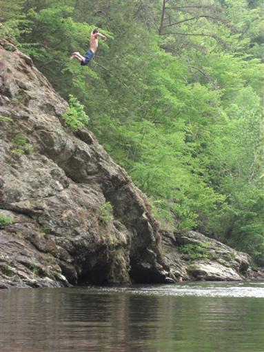 River Jumping
