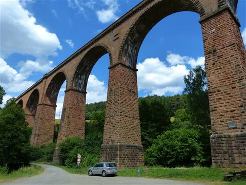 Himbächl-Viadukt im Odenwald