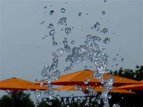 fliegendes Wasser