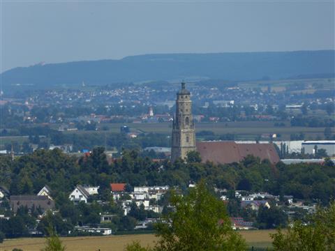 Nördlingen - runde Stadt im Rieskrater