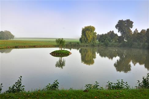 Inselweiher in Triesdorf