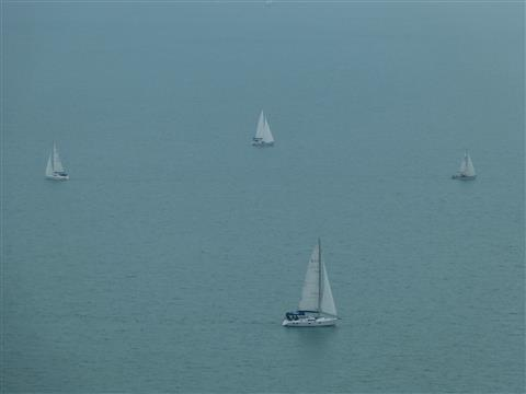 Segeln am Balaton Ungarn