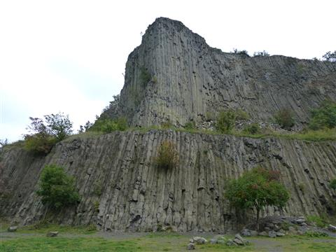 Basaltorgel Monoszló Balaton Ungarn