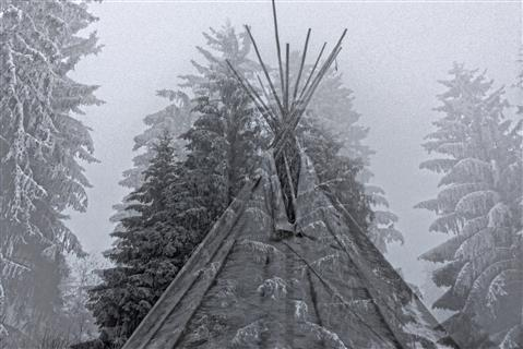 Winterbeginn im Bay Wald