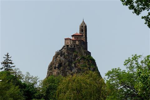 Le Puy-en-Velay Chapelle Saint-Michel-d'Aiguilhe