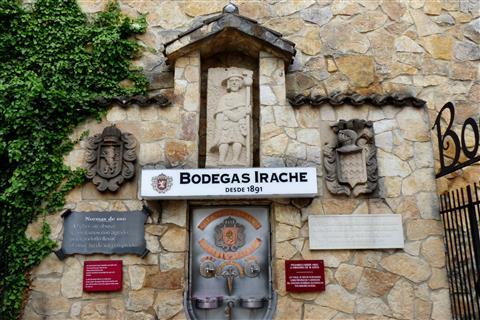 jedem Pilger sein Tröpfchen-Weinbrunnen am Jakobsweg in Spanien