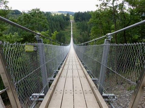Geierlay Hängebrücke im Hunsrück