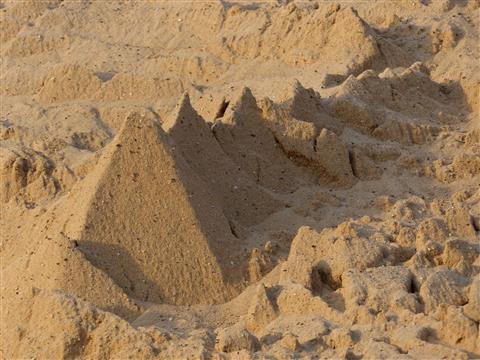 Sandberge-Faszination der kleinen Strukturen