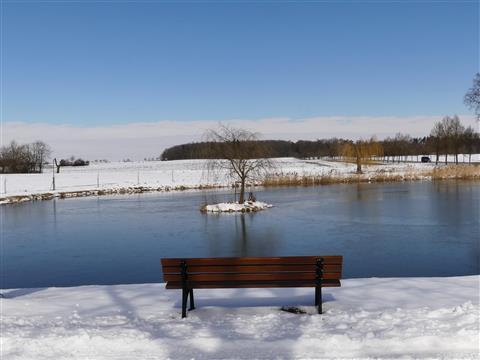 Winterruhebild am Frühlingsanfang 2018