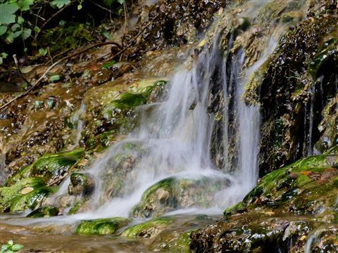Wasserfall bei Streitberg