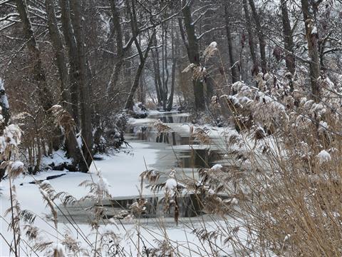 Am Mühlgraben bei der Stadtmühle Ornbau