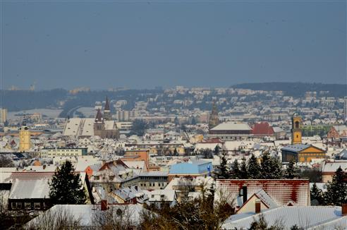 Ansbach im Schnee