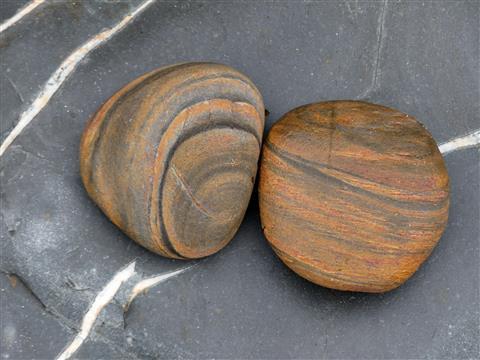 zwei schöne Steine