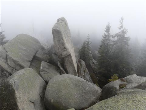 Nußhardt im Nebel