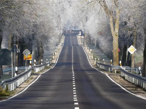 1 KM Raureif und Autofrei