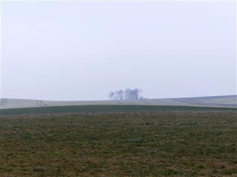 Frostland im Norden des Hesselberges