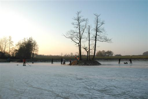 Eislaufen in Triesdorf
