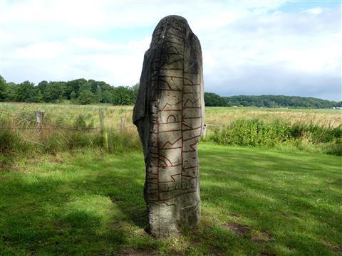 Runenstein bei Haitabu/Schleswig