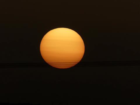 Saharastaubsonne
