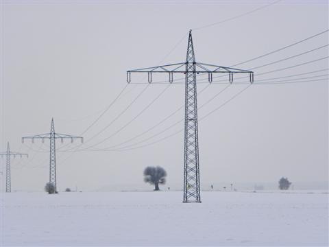 Winterlandschaft bei Weidenbach/Mittelfranken