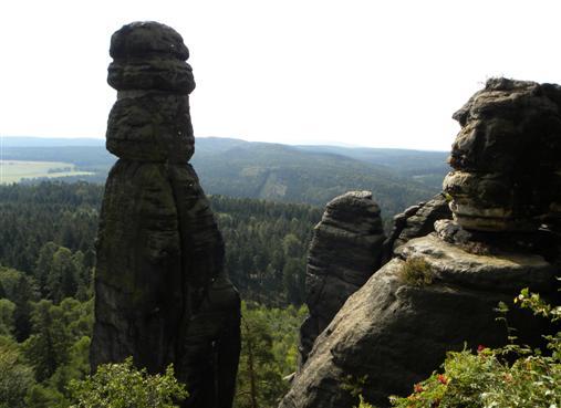 Barbarine am Pfaffenstein Elbsandsteingebirge