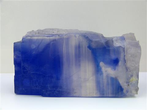 Steinsalz blau