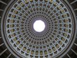 Blick in die Kuppel der Befreiungshalle