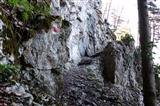 der Jakobsweg im Fels