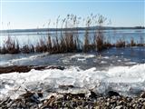 Eisgang am Altmühlsee