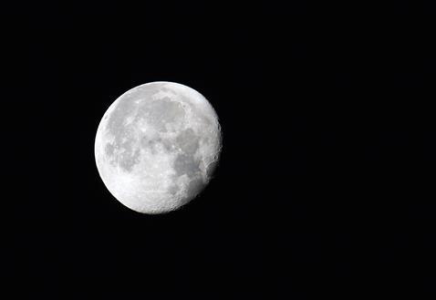 Immer wieder schön... der Mond