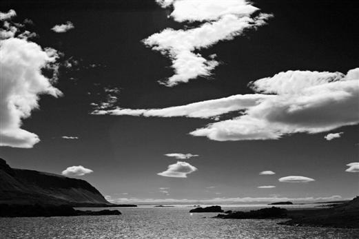 Wolkenbild (Island)