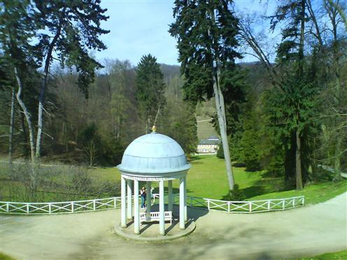 Stille im Staatspark Fürstenlager