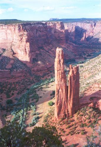 Spider Rock, Canyon de Chelley