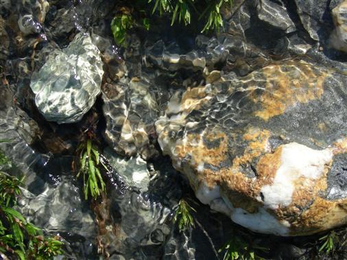 Steine im Bergbach / 2