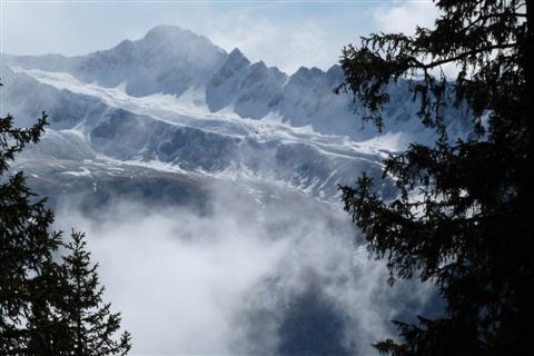 Nebel in den Berge