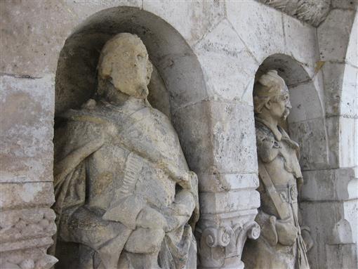 Steinfraß in Budapest