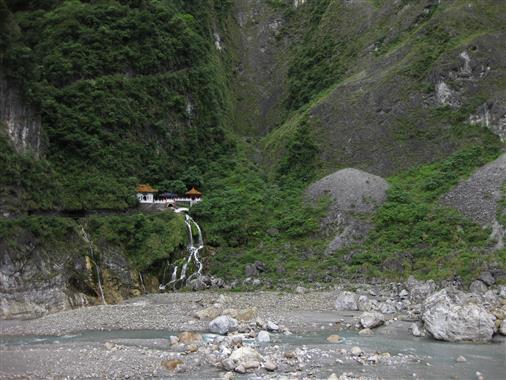 Changchun-Schrein im Taroko Nationalpark