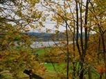 Herbst am Mjösasee, Norwegen