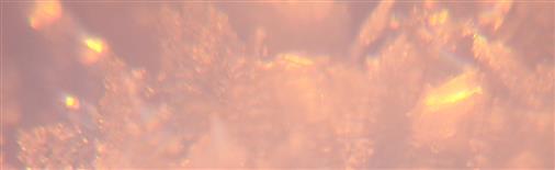 Schneekristallblättchen im Sonnenschein