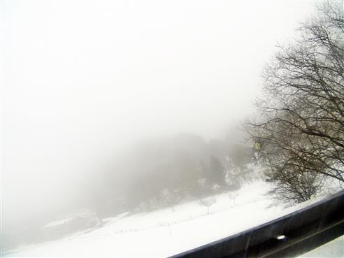Typischer Dunst, Nebel bei