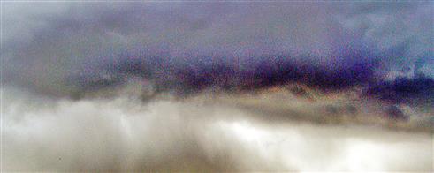 Regenwolke nordwestlich von Eibelshausen