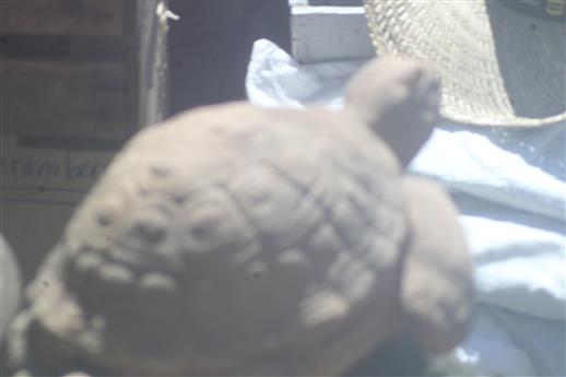Schildkröte aus Ton